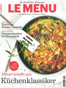 LE MENU, Ausgabe 9, September 2016