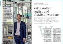 Reto Bättig, Geschäftsführer Geberit Markt Schweiz