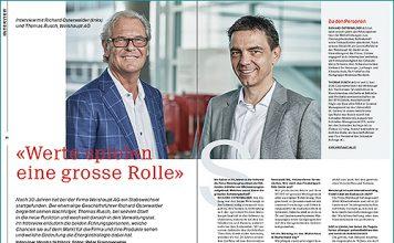 Richard Osterwalder und Thomas Rusch, Weishaupt AG