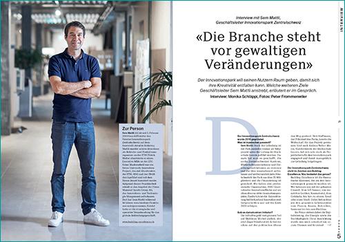 Sem Mattli, Geschäftsleiter Innovationspark Zentralschweiz