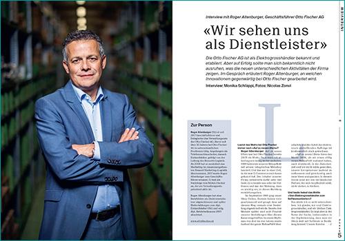 Roger Altenburger, Geschäftsführer Otto Fischer AG